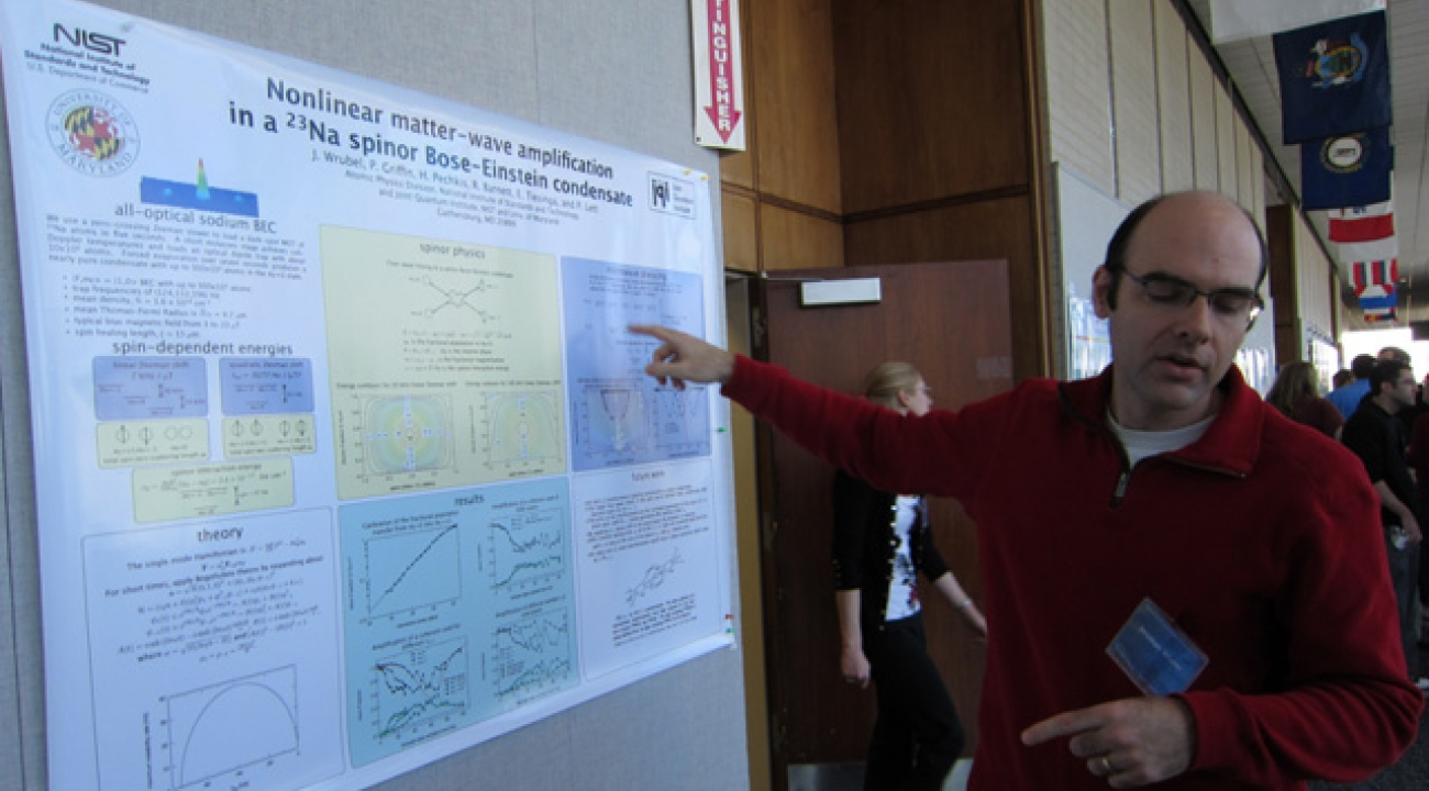Jonathan Wrubel: Nonlinear Matter-Wave Amplification in a 23Na Spinior Bose-Einstein Condensate