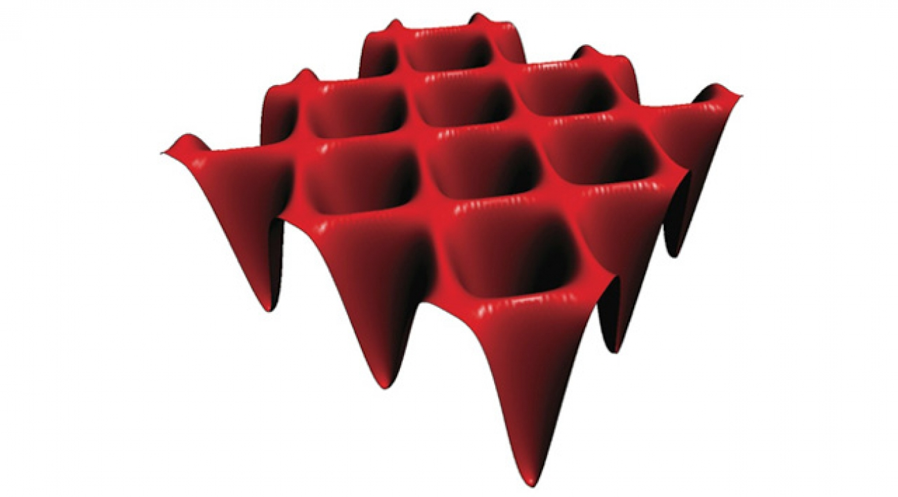 Cell dimensions in conventional optical lattices are constrained by the wavelength of the laser light.