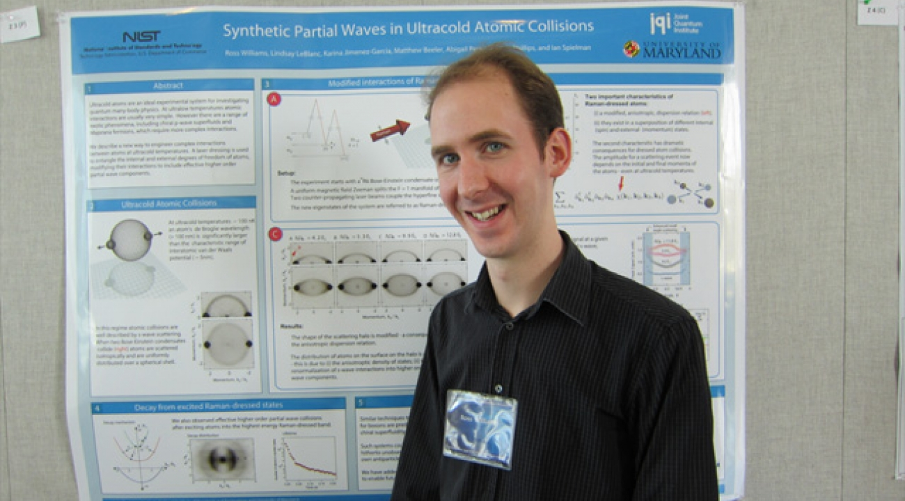 Ross Williams: Synthetic Partial Waves in Ultracold Atomic Collisions