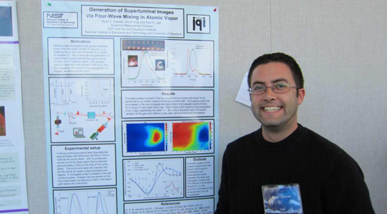 Ryan Glasser: Generation of Superluminal Images With Four-Wave-Mixing in Atomic Vapor