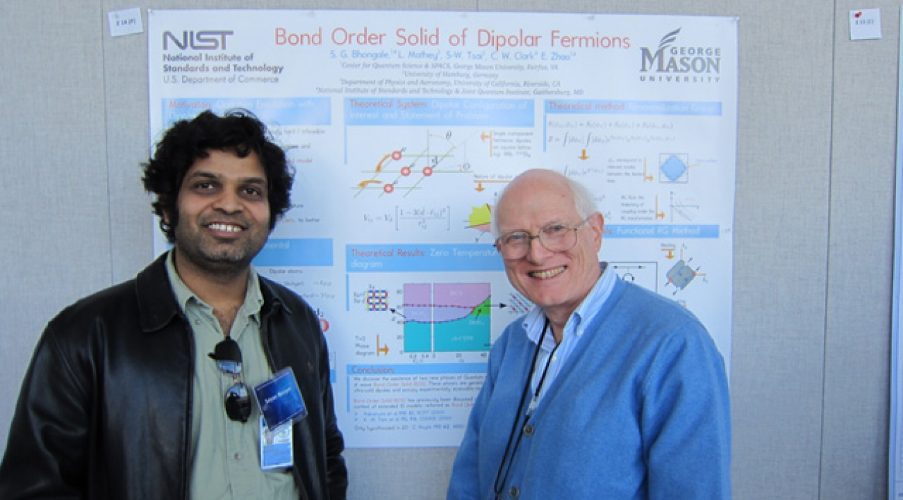 Satyan Bhongale and Paul Julienne: Bond Order Solid of Dipolar Fermions