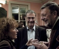 Serge Haroche and wife, Claudine Haroche, with Bill Phillips, on the occasion of Phillips receiving an honorary degree from Ecole Normale Superiore