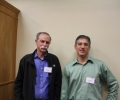 Chris Monroe and David Wineland, taken during visit to JQI after Nobel Prize announcement