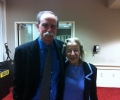 Dave Wineland with Katharine B. Gebbie, Director of the Physical Measurement Laboratory