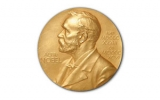 Front side of the Nobel Prize medal.
