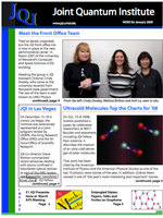 Cover of JQI Newsletter, January 2009