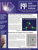 Cover of JQI Newsletter, June 2010